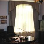 шторы в кабинете
