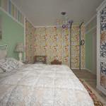 спальня с детским уголком