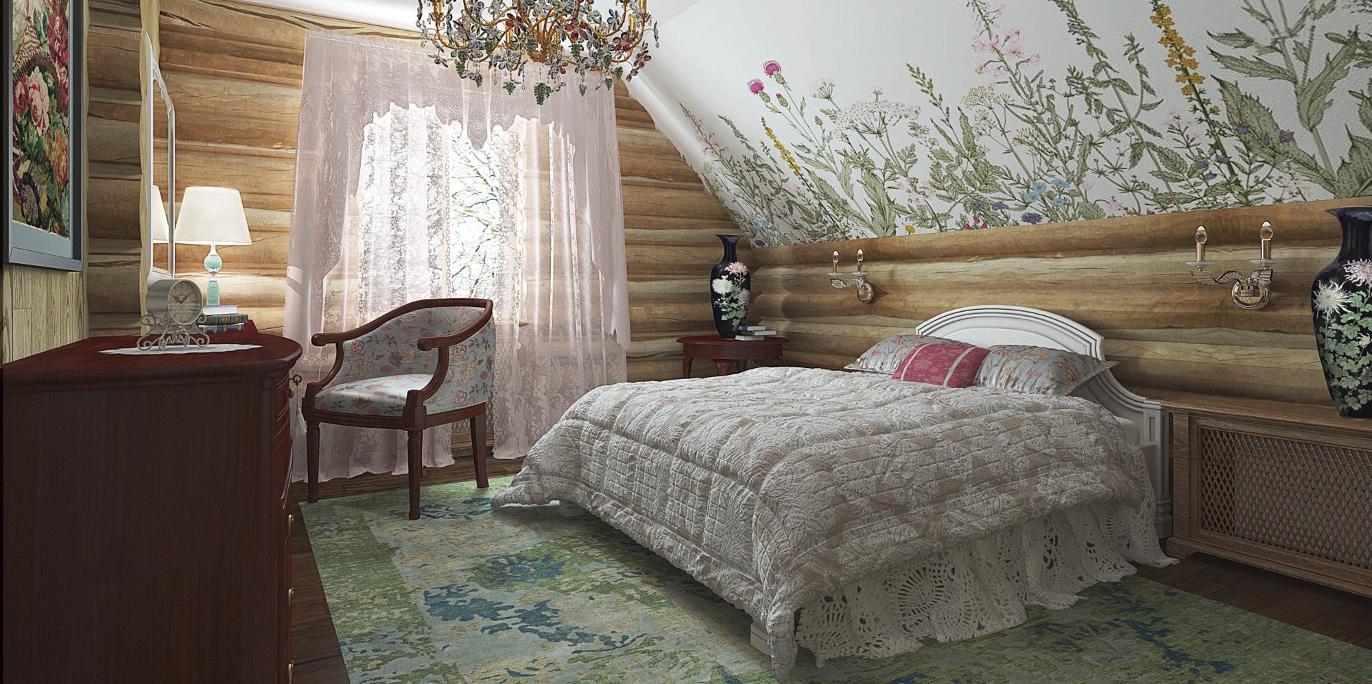 Спальня в проекте